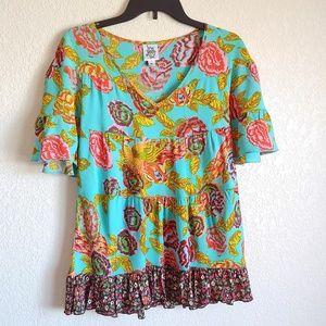 🇺🇸 Boho top blouse Ivu Jane